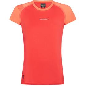 La Sportiva Move T-Shirt Femme, hibiscus/flamingo